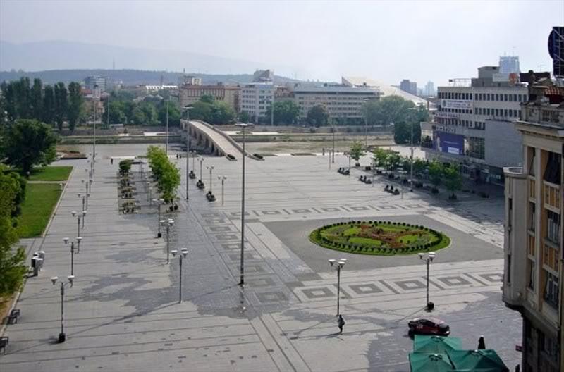 Skopje before Skopje 2014